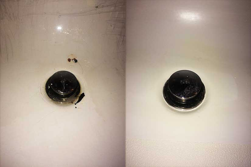 Chipped-Bathtub-Drain-Restored