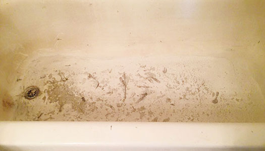 Dirty Bathtub Peeling